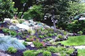 Backyard Hillside Landscaping Ideas Uphill Landscaping Ideas