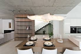 Concrete Ceiling Lighting by Concrete Interior By Oooox
