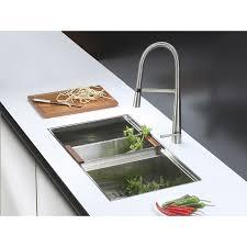 kitchen faucet soap dispenser ruvati rvf1225k1bn pull kitchen faucet with soap dispenser