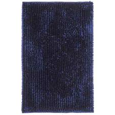 Navy Bath Mat Butter Chenille Noodle Bath Mat Collection Average Savings