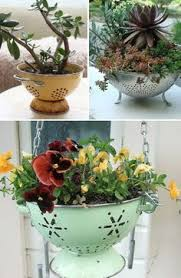 laundry basket planter planters laundry and gardens