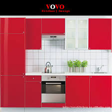 Popular Modern Kitchen Cabinets For SaleBuy Cheap Modern Kitchen - Red lacquer kitchen cabinets