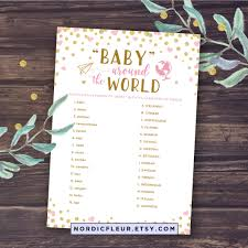different baby shower baby around the world baby shower printable baby shower