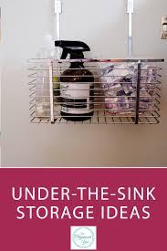under kitchen sink storage ideas under the sink storage ideas blog home organisation the