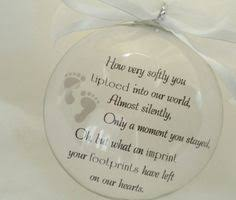 infant loss christmas ornaments baby memorial ornament miscarriage by paintedtreasuresbyme