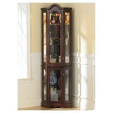 glass curio display cabinet hollywood thing