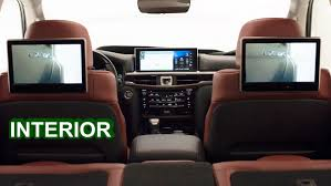lexus suv inside 2016 lexus lx 570 interior youtube