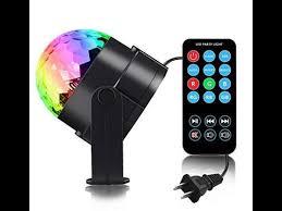 supertech led magic ball light instructions my share spriak sound actived 7 color led disco ball l youtube