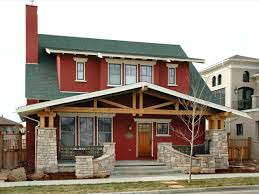 craftman homes brown craftsman homes exterior paint colors for brick red wall