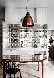 mirrored backsplash in kitchen imposing decoration mirrored tile backsplash wonderful design