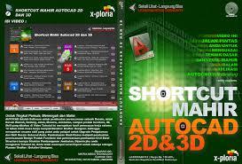 jual tutorial autocad bahasa indonesia cd video tutorial autocad 2 dimensi dan 3 dimensi murah jual cd