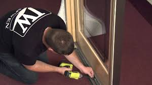 How To Remove A Patio Door by How To Remove And Reinstall A Stationary Panel In A Sliding Wood