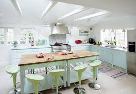 pastel kitchen ideas kitchen brightened with a pastel color palette