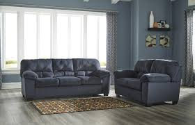 living room collections dailey collection midnight blue living room set by ashley 9540238