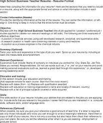 the resume exle business resume sales lewesmr