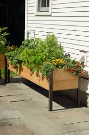 Buy A Planter Planter Boxes Standing Height Cedar Raised Garden