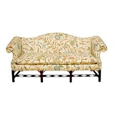 Colonial Settee Chinese Chippendale Camelback Sofa Colonial Furniture Beautiful