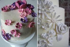 Classic Cake Decorations Beautiful White Organic Wedding Cake Decorated With Vibrant Fruit