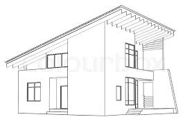 architecture house drawing contemporary for architecture modern
