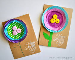 s day cards for kids bright and cheerful kid made s day card i heart crafty things