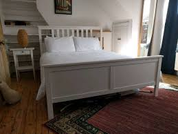 bedding formalbeauteous hemnes bed frame queen ikea white 0489195