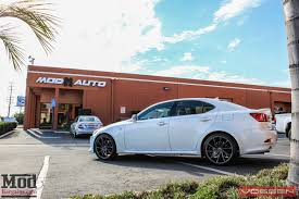 lexus is350 performance mods lexus is350 on vossen cvt directional wheels