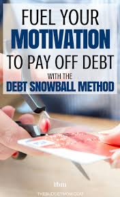 pay off debt with the debt snowball method the budget mom
