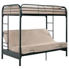 White Metal Futon Bunk Bed Metal Bunk Bed Futon Black Futon Bunk Bed Bedroom