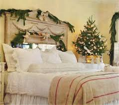 decorations traditional christmas bedroom decoration alongside