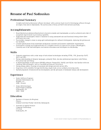 How To Write Summary Of Qualifications Professional Summary Resume Examples How Write Professional