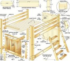 Woodworking Plans Bunk Beds by Bed Plans For Bunk Beds Loft Beds Murphy Beds Cool Woodworking