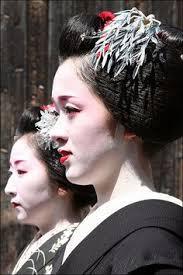 Geisha Hairstyles Suisha Hairstyle One Of Few Pre Sakkou Hairstyles Worn In