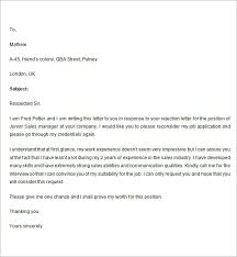 Decline Letter To Bid Rejection Letter Response Army Franklinfire Co