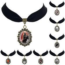 velvet choker necklace pendant images Star wars black velvet choker necklace jedi order logo symbol jpg