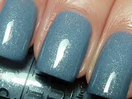 opi u0027i don u0027t give a rotterdam u0027 glittery light blue nail polish