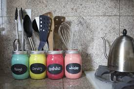 kitchen utensil holder ideas diy jar organizer popsugar smart living