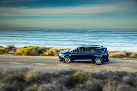 Uncluttered Look 2017 Chrysler Pacifica Time Is Right For Hybrid Minivan Green