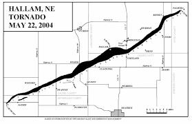 Tornado Map File Hallam Ne Tornado Map Jpg Wikimedia Commons