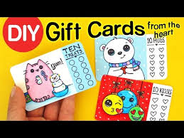 make gift cards diy how to make gift cards from the heart christmas craft