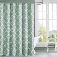 buy white designer shower curtains from bed bath u0026 beyond