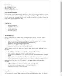 Sample Volunteer Resume by Resume Job Description Sample Resumes Animal Shelter Volunteer