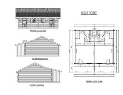 Hunting Cabin Floor Plans by Sportsman Cabin Series