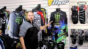 motocross gear for kids thor core monster energy pro circuit riding gear available from