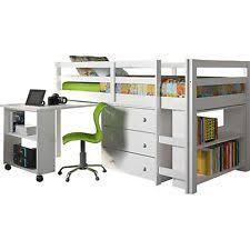Loft Bed With Desk For Kids Loft Bed With Desk Ebay