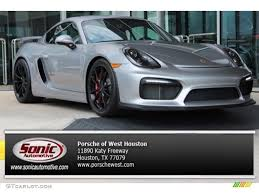 porsche cayman silver 2016 rhodium silver metallic porsche cayman gt4 106692335 photo