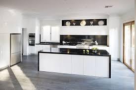 white kitchen cupboards black bench designer kitchens gallery rosemount kitchens kitchen
