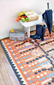 Colorful Aztec Rug The 12 Best Diy Rug Tutorials Of All Time Porch Advice