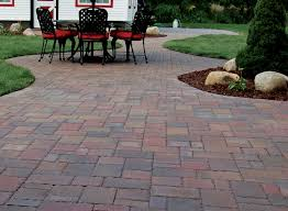Thin Patio Pavers Charming Design Cobblestone Pavers Thin Paver In Antique Reclaimed