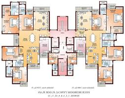 Floor Plan Source by Exellent 10 Bedroom House Plans 4 2 Semi Detached Ghana Intended