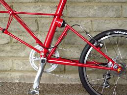 ferrari bicycle sold moulton tsr alfine 11 ferrari red portapedal bike
